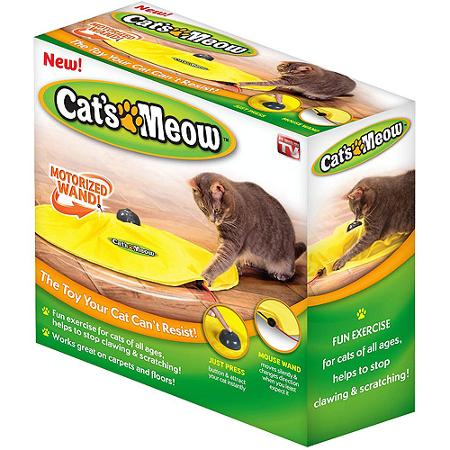 cats meow cat toy