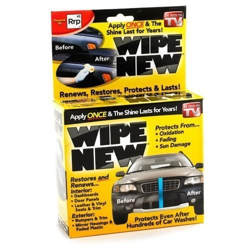 wipe new car restorer