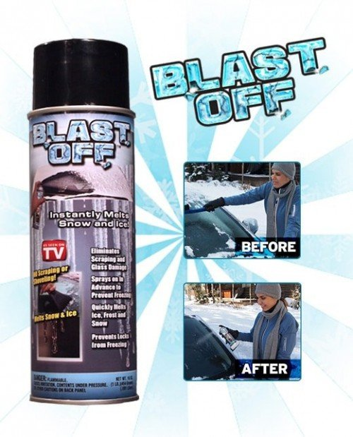 blastoff de-icer spray