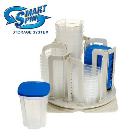 smart spin storage system