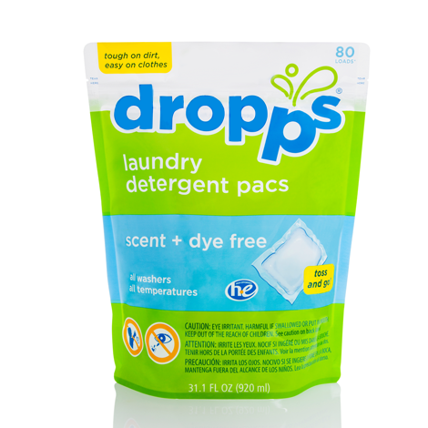 dropps laundry detergent