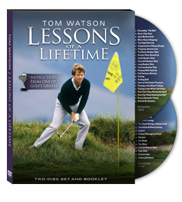 Tom Watsons Lessons of a Lifetime DVD