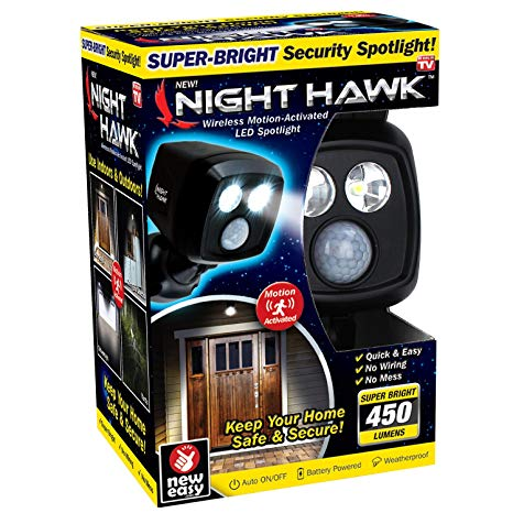 Night Hawk Motion Sensor Security