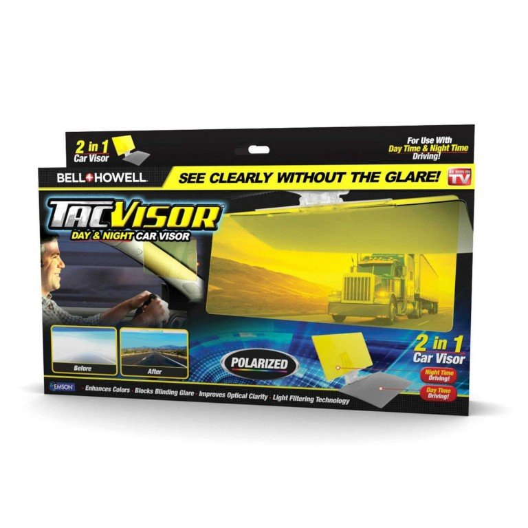As Seen On TV Tac Visor - Military-Inspired Visor Blocks Glare Without Blocking Your View