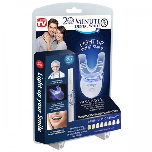 As Seen On TV 20 Minute White Smile - Achieve Your Brightest & Whitest Smile In Just 20 Minutes!