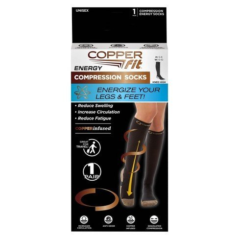 copperfit energy socks as seen on tv