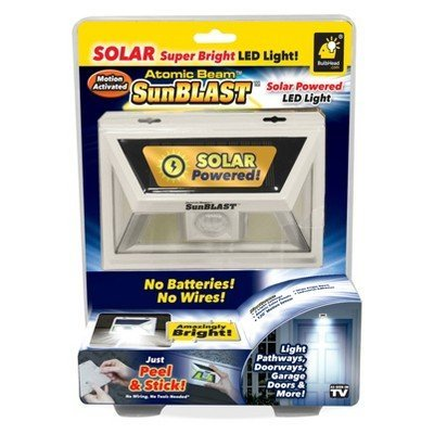 As Seen On TV Atomic Beam SunBLAST - The Brightest Solar Powered LED Light