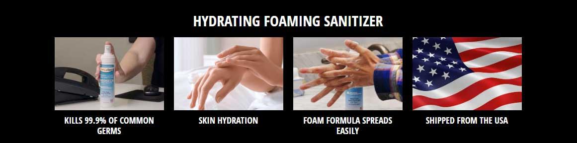 Hydrating Foam Sanitizer