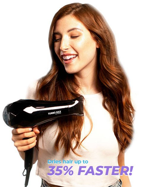 As Seen On TV InStyler TURBO MAX - The Fastest Dryer...Period