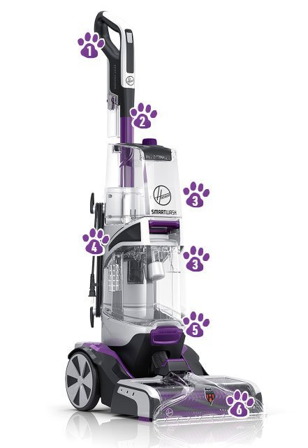 The Hoover® SmartWash™ Pet Complete