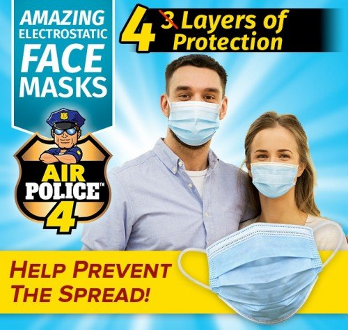 Air Police 4 - Amazing Electrostatic Face Masks