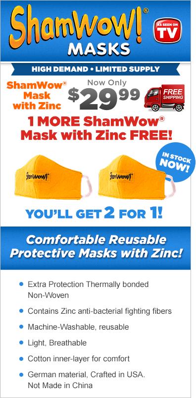 shamwow facial masks