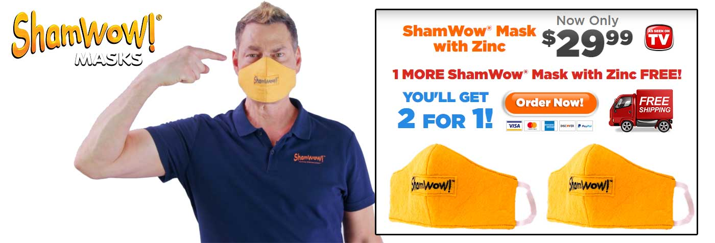ShamWow Face Masks
