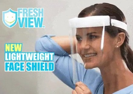 Fresh View™ - Lightweight Face Shield
